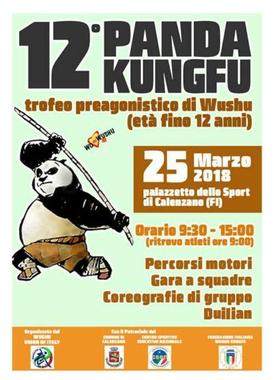 25 Marzo 2018 Panda Kung Fu Scandicci
