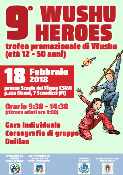 Wushu Heroes 18 Febbraio