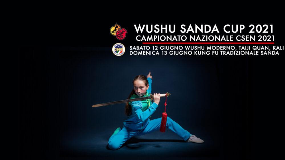 CAMPIONATO NAZIONALE CSEN WUSHU SANDA CUP 12 / 13 GIUGNO 2021